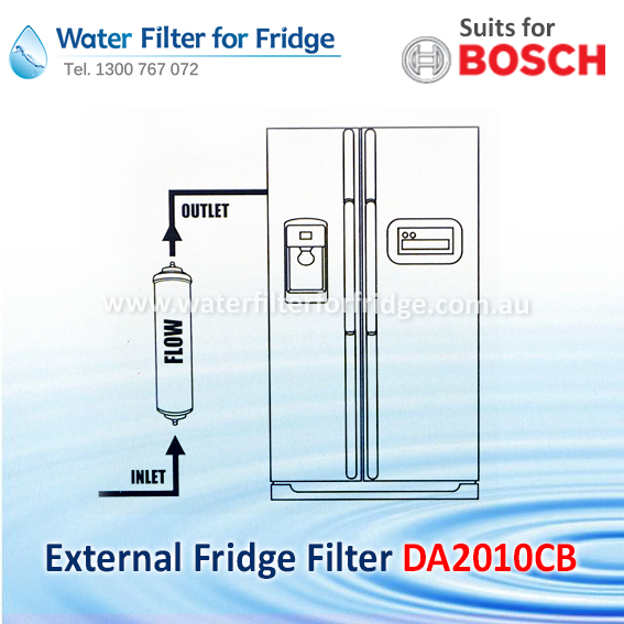 Bosch Premium External Replacement Filter for Fridge KAN58A40