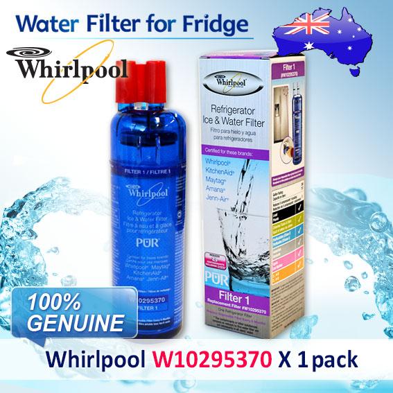 5X WHIRLPOOL FRIDGE WATER FILTER W10295370 GENUINE MODEL