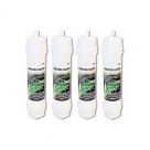 4x Genuine Samsung Screw Fit WSF-100 Ver.1 Fridge Filter