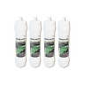 4x SAMSUNG  SCREW FITTING WSF-100 Ver.1 GENUINE MODEL FRIDGE WATER FILTER