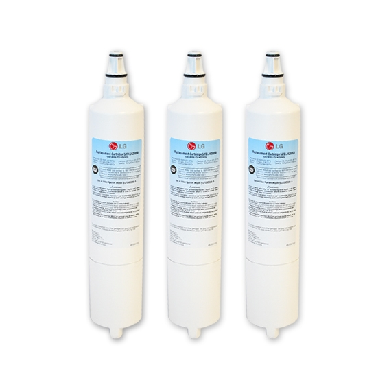 3x LG 5231JA2006A/LT600P Genuine Fridge Water Filter