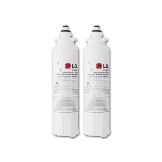 2X Genuine OEM LG LT800P ADQ73613401 Ice and Water Fridge Filter
