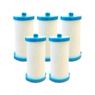 5x Aqua Blue H2O Westinghouse/Electrolux 1438545 Fridge Water Filter | 218904501 WF1CB−WF