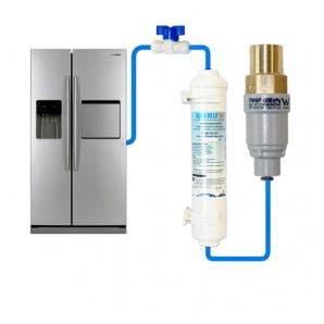 """Compatible Water Filter + FMBP 600 PLV Valve + Water Line Tube Hose Kit 5m, 1/4"""" set"""