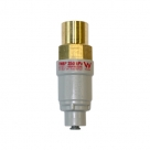 """350kPa 1/2"""" BSP brass inlet / plastic with 1/4"""" JG outlet port"""