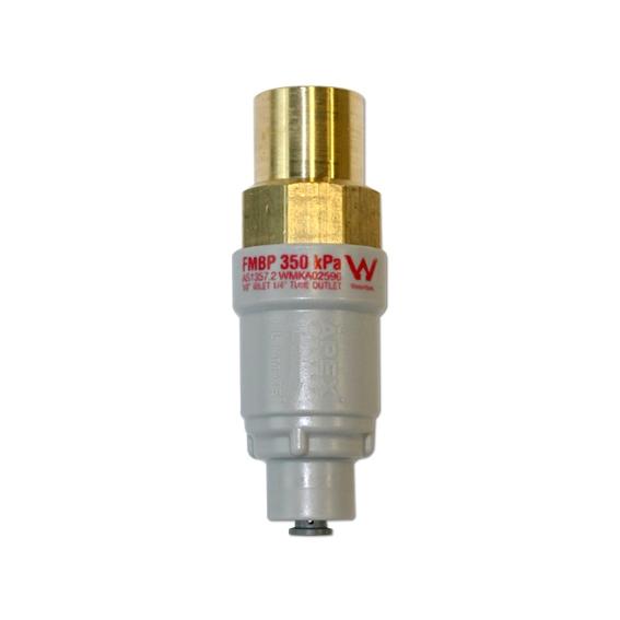 Genuine APEX Filtamate Brass Plastic Pressure Limiting Valve FMBP-350