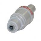 "Apex FMP 350 KPA Pressure Limiting Valve (PLV) plastic with 1/4"" tube ports"