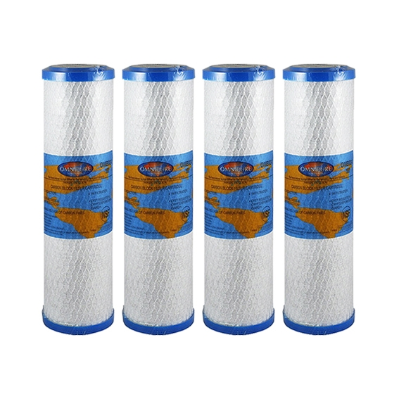 """4x Omnipure OMB934 10M - fits in standard 10""""  filter housings"""