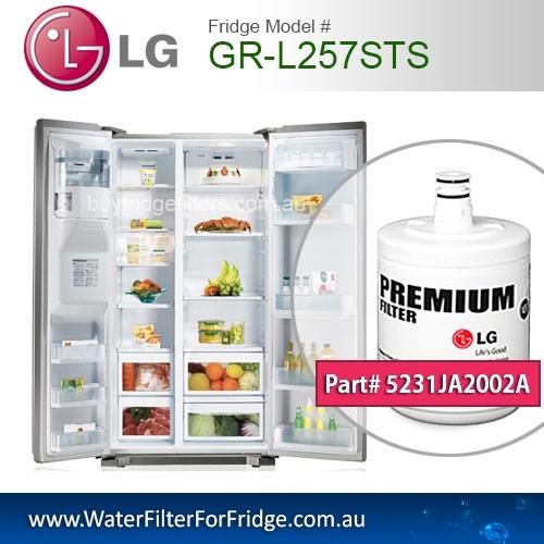 LG Fridge Model GR-L257STS Replacement Filter Genuine  Premium,5231JA2002A, Cuno 3M