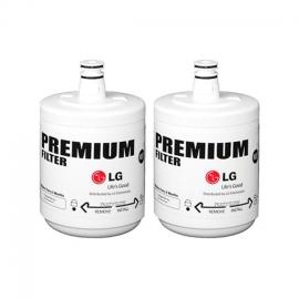 2x LG 5231JA2002A, LT500P Original Genuine Fridge Water Filter Premium