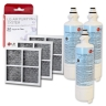 3x LG LT700P( ADQ36006101) with 3x LG LT120F(ADQ73214404) Air filter