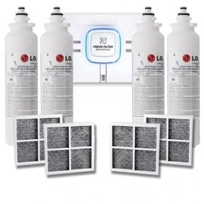 4x LG LT800P Genuine Fridge Filter + 4x LG Air Filter LT120F