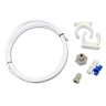 Fridge Freezer Water Filter Pipe Tubing hose 1/4  connection kit set