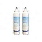 2xLG REPLACEMENT ADQ73613401, LT800P FRIDGE FILTER by AQUA BLUE H2O