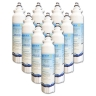 10xLG Replacement Water Filter ADQ73613401(LT800P) with 10xLG Air Filter ADQ73214404(LT120F)
