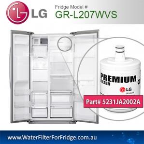 LG Fridge Model GR-L207WVS Replacement Filter Genuine  Premium,5231JA2002A