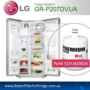LG Fridge Model GR-P207DVUA Replacement Filter Genuine  Premium,5231JA2002A