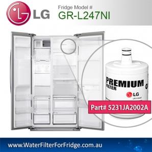 LG Fridge Model GR-L247NI Replacement Filter Genuine  Premium,5231JA2002A