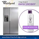 6WSC20C6XY Whirlpool Fridge Filter Replacement Number W10295370A