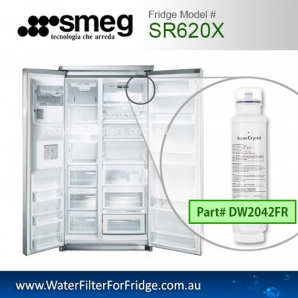 Smeg Fridge filters  DW2042FR  FOR SR610X SR620X