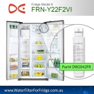 FRN_Y22F2VI Daewoo  DW2042FR-09 Replacement Fridge Filter Cartridge