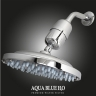 AQUA BLUE H20 High Output Chlorine Removing Showerhead Filtration System
