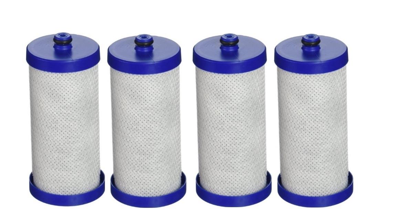 4x Frigidaire Kenmore Genuine Fridge Filter 14238545, WF1CB, 218904501, RG-100 WFCB