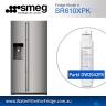 Genuine DW2042FR-09 Smeg Fridge filters DW2042FR FOR SR610XPK