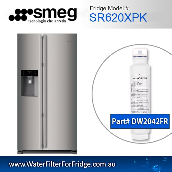 Smeg Fridge filters DW2042FR FOR SR620XPK