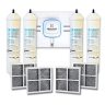 LG External Inline Fridge Water Filters + LG Air Filter (LT120F)