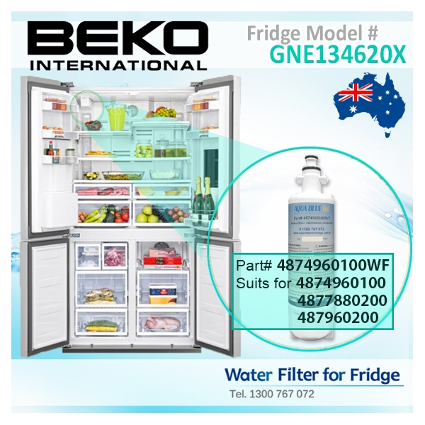 5x Inline Fridge Water Filters for LG Samsung Daewoo GE Beko /& Aquariums 439