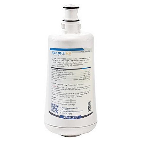 Aqua Blue H20 AB912WF Water filter fits Insinkerator F-601 Filter Cartridge for Hot Water Dispenser