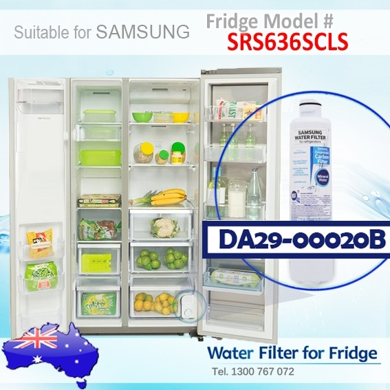 SRS636SCLS Samsung Fridge DA29-00020A/B Water Filter Genuine Part