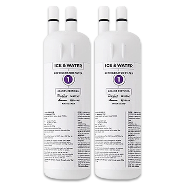 2x Whirlpool Genuine W10295370 Fridge Water Filter