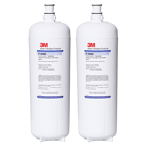 2X 3M P165BN High Flow Triple Stage Softening Water Filter