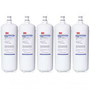 5X 3M P-165BN High Flow Triple Stage Softening Water Filter