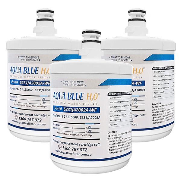 3x LG Water Filter Generic LT500P 5231JA2002AWF