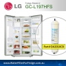 DA2010CB External Fridge Filter - Suits LG