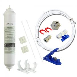 Whirlpool Genuine Fridge Filter 4378411 or  4378411RB Hose(10M) Kit