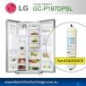 2PACK OF LG EXTERNAL FRIDGE FILTER FOR GC-L197NIS IN LINE PREMIUM FILTER