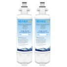 2PACK LG LT700P / ADQ36006101 Refrigerator Water Filter By Aqua Blue H20