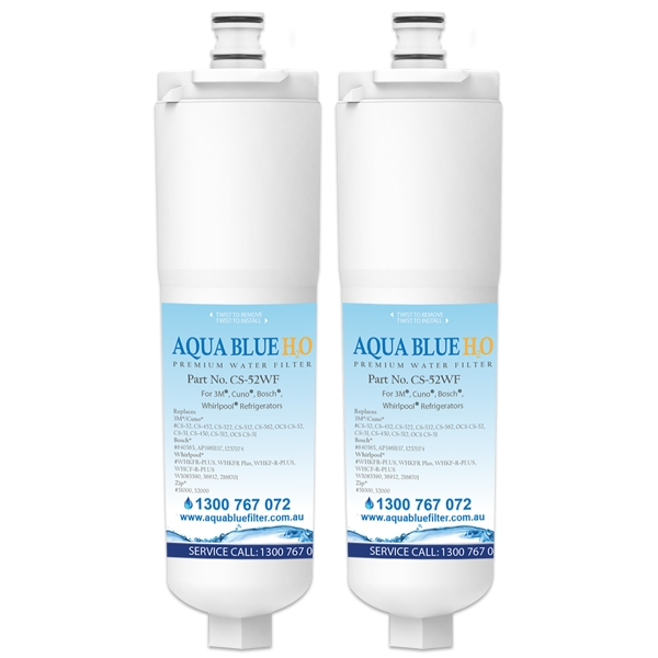 2x 640565 Bosch 3M CS-52  by Aqua  Blue H20