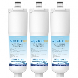 3x 640565 Bosch 3M CS-52  by Aqua  Blue H20