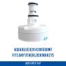 4396508 Whirlpool  fridge filter  Aqua Blue  H20