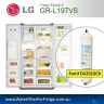 LG EXTERNAL FRIDGE FILTER FOR GR-L197NIS FILTER