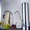 Omnipure 0.5 Mic Chrome Countertop Drinking Water Filter System