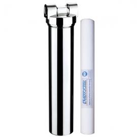 "2.5"" x 20""  Chrome  body Sediment   Undersink  Drinking Water Filter System"