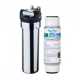 3M Aqua Pure Plus AP117 Chrome Undersink Drinking Water Filter System