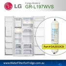 LG EXTERNAL FRIDGE FILTER FOR GR-L197VS FILTER