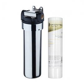 Everpure Sediment Filter System With Chrome Canister